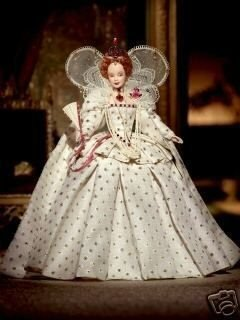 Barbie Collector # B3425 Queen Elizabeth -