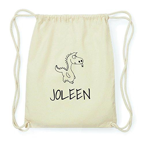 JOllipets JOLEEN Hipster Turnbeutel Tasche Rucksack aus Baumwolle Design: Drache gsD8Biyt