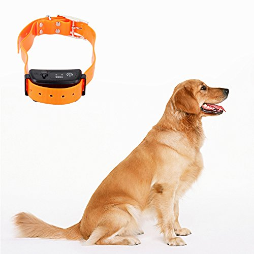 Water Resistant 6 Levels Control Rechargeable Sound and Shock Training Collar Effective Dog Pet Anti-Bark Collar for Dog