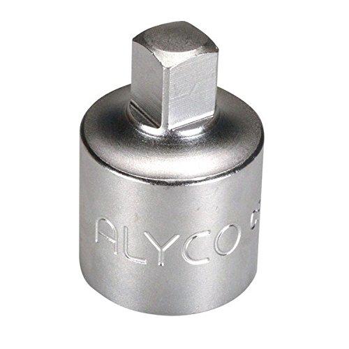Alyco 192632/Adapter 3//4/auf 1/Une 16511/DIN 3123/CR-V Chrom matt