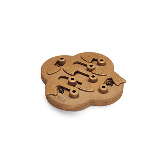Hide N' Slide Treat Dispensing Dog Toy Brain and Exercise Game for Dogs by Nina Ottosson, Wood Composite