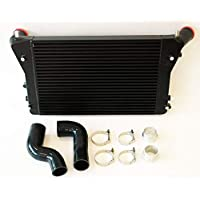 Intercooler 2.0 TFSI engine front black Interior Negro