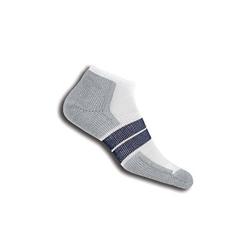 Thorlos Thick Padded 84N Runner Low Cut Sock White L