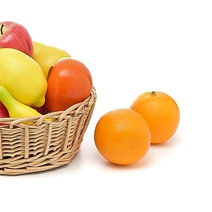 Takefuns 10 pcs artificielle Motif grande taille Faux Fruits ...