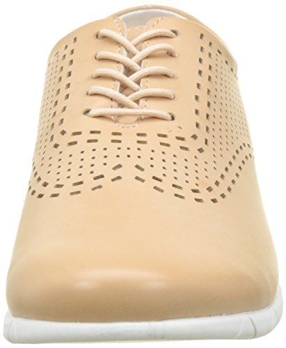Para Mujer Beige chair 115 Brogue Zapatos Cordones Kickers Becki De nZwaqXHX