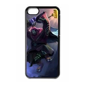 iPhone 5c Cell Phone Case Black League of Legends Jax Popular Games image KOL1352748