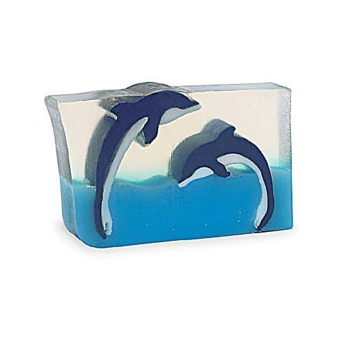 (Primal Elements Dueling Dolphins 6.0 Oz. Handmade Glycerin Bar Soap)