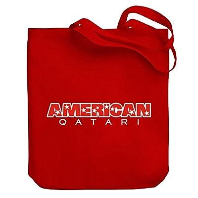 5b9a3ebeae28 Teeburon AMERICAN Qatari Canvas Tote Bag chic - webcam.annoncesxxx.ca