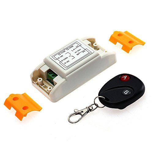 AC180-240V Remote Controller Modules Wireless Switch Transmitter+Receiver New by Foxpic