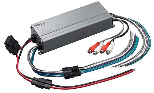 Click to buy Clarion XC1410 300W XC Series Micro 4-Channel Class-D Compact Design Car Amplifier - From only $78.15