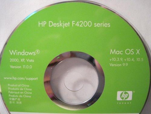 - HP Deskjet F4200 Series CD Driver Software for Printer