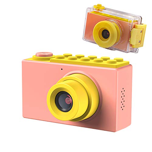 Pink Digital Waterproof Camera - 6