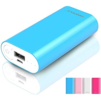 5000mAh Cell Phone Battery Backup Portable Power Bank Battery USB Charger External Phone battery for Apple iPad iPhone 6s, 6s Plus, Samsung Galaxy LG HTC Motorola and other USB Powered Devices