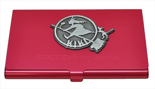 Ghibli Kiki's Delivery Service metal card case magenta Kiki's sign From Japan New (Geisha Costume Australia)