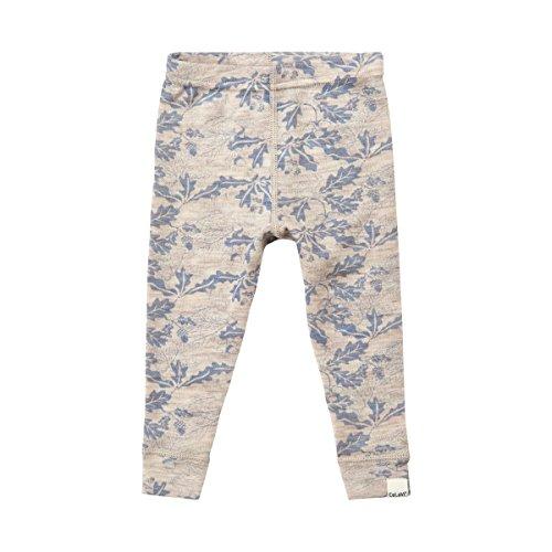 100  Merino Wool Baby Toddler Pants   Long Johns   Pj Bottoms   Dusty Blue  18 24 Months