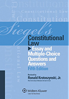questions answers constitutional law kindle edition by paul e  siegel s constitutional law essay and multiple choice questions and answers fifth edition