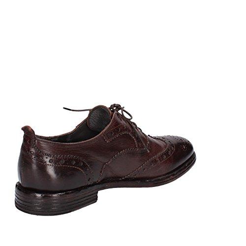 MOMA - Zapatos de cordones de Piel para hombre marrón marrón