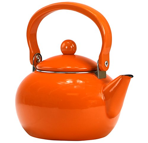 Calypso Basics by Reston Lloyd Enamel-on-Steel Teakettle, 2-
