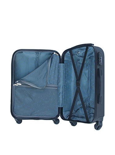 Rigido Bluestar Nero 12705 Set 3 Bd Trolley qtw6TrHt