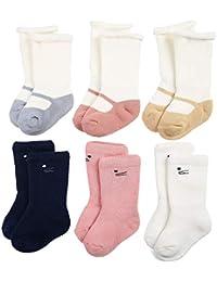 Unisex Baby Socks 3/6 Pack Soft Cotton Warm Winter Infant & Toddler Socks