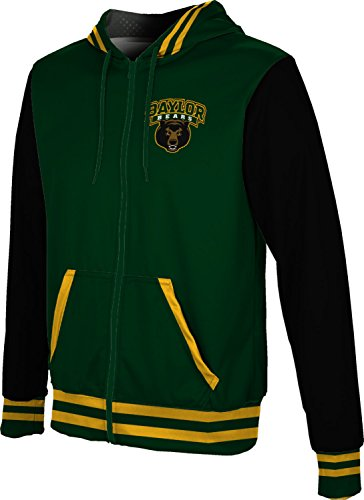 ProSphere Baylor University Men's Fullzip Hoodie - Letterman FABC2 (Medium)