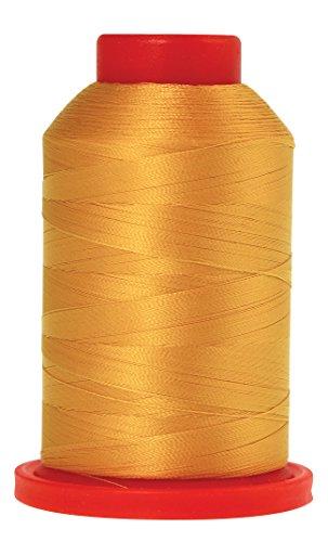 Mettler Fine Embroidery Thread - Mettler Seralene Polyester Thread, 2187 yd/2000m, Gold/Mustard