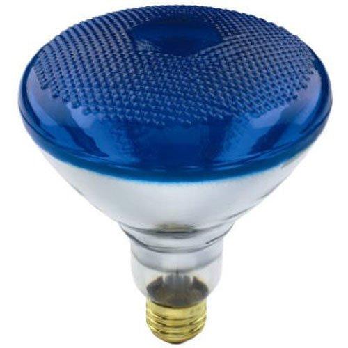 (KEYSTORE INTL MCO 70892 Westpointe Flood Beam Accent Reflector Light Bulb, 100W, Blue)