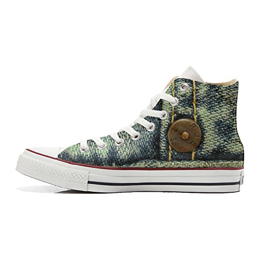 Converse All Star zapatos personalizados (Producto Handmade) Jeans