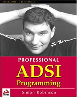 Book Professional ADSI Programming- Active Directory Services Interface