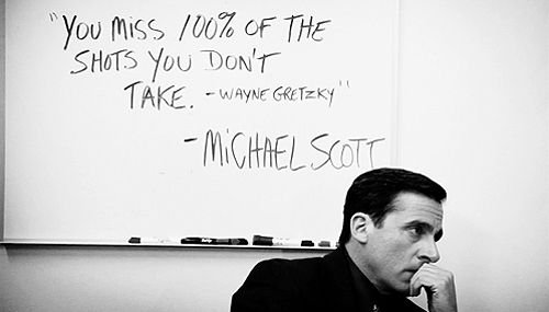 Michael Scott Quotes Get Motivated s Poster