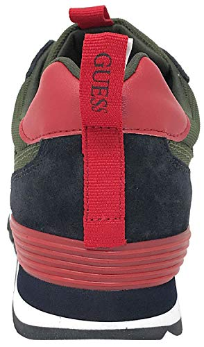 Uomo Charlie Suede Sneaker 43 Guess Runner Green x1w7wFq