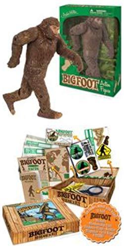 Archie McPhee Accoutrements Bigfoot Action Figure Research Kit (Bundle 2 Items)