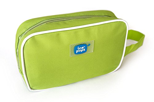 Cool-It Caddy Icepops Freeze and Go Cosmetic and Snack Bag, Lime (Mini Freezer For Medications compare prices)