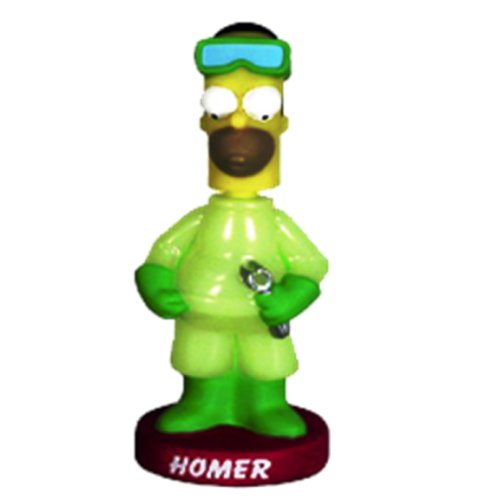 SIMPSONS Series II : HOMER 'radioactive' bobble-head https://amzn.to/2VJ2DYu