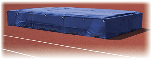 """Track & Field High Jump Mat 8'D X 16'6""""W X 26""""H - Excellent High Jump Pit for High School Jumping Competition - Free Freight In Lower 48 States"""