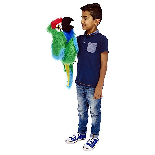 - The Puppet Company Large Birds Military Macaw Hand Puppet