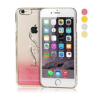QHY Sea Grass Electroplate PC Hard Case for iPhone 6 Plus(Assorted Colors) , Silver