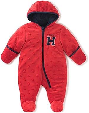 Tommy Hilfiger Baby Boys' Pram- Embossed Silky Sherpa