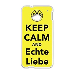 Keep Calm And Echte Liebe White htc m7 case