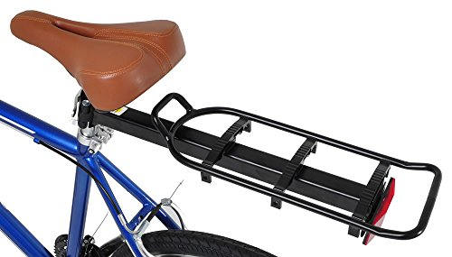 Vilano Bike Seat Post Mounted Rear Rack Commuter Carrier, fits 26″, 700c, 27.5″, and 29″ bikes