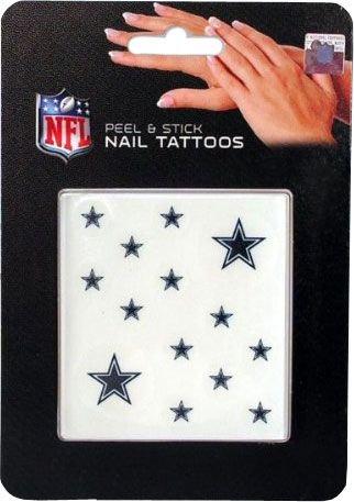 NFL Dallas Cowboys Nail Tattoos