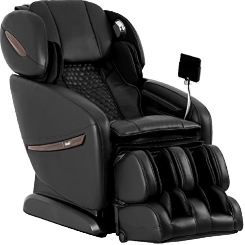 Osaki OS-Pro Alpina A Massage Chair, Black, SL Track Roller Design, Touch ScreenRemote Controller, BluetoothConnection for Speaker, AirBag Massage, Heat Therapy and Seat Vibration