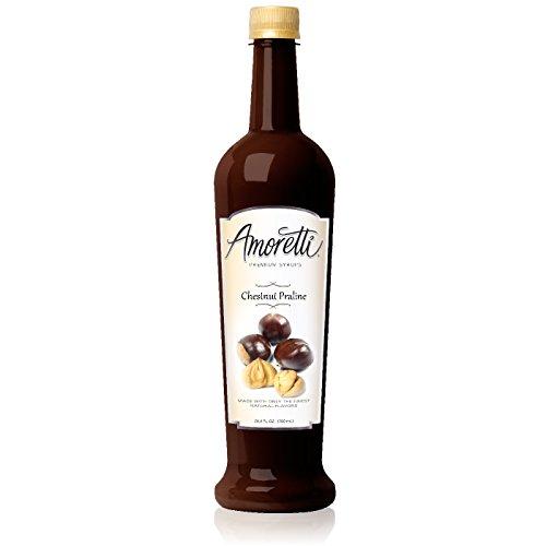 Amoretti Premium Syrup, Chestnut Praline, 25.4 Ounce