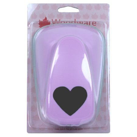 Woodware Super Duper Lever Craft Punch - Heart by Woodware Craft Collection Ltd Woodware Craft Punches
