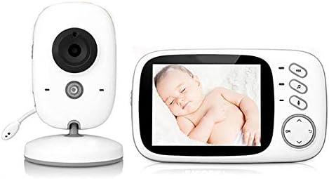 Beb/é Monitor Inteligente Pantalla LCD 3.5 Canciones de Cuna Cozime Vigilabeb/és Inal/ámbrico Intercomunicador Bidireccional C/ámara Vigilancia Bebes Visi/ón Nocturna Monitor de Temperatura
