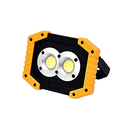 HHF LED Bulbs Lamps, USB Charging LED Spotlight LED Light Portable Work Lamps LED Lamp Camping Outdoor Tool Waterproof Rechargeable Flood Light
