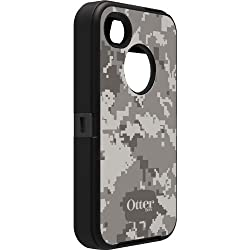 OtterBox Defender Series Military Camo for iPhone 4 and 4S - Retail Packaging - Blizzard Design from OtterBox