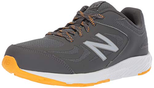 New Balance Boys' 519v1 Running Shoe, Magnet/Phantom, 13.5 XW US Little Kid