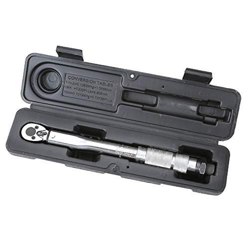 JunliGarden Adjustable Torque Wrench 1//4 5-25nm Drive