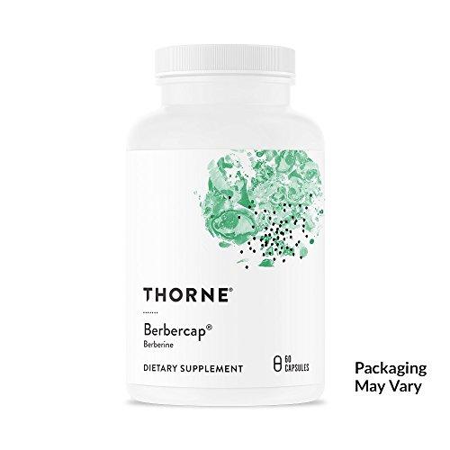 Thorne Research - Berbercap - 200 mg Berberine for GI Support and Immune Function - 60 Capsules